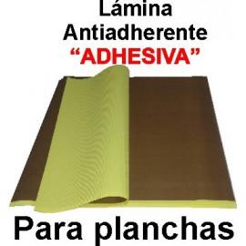 Lamina protectora adhesiva