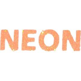 Siser Glitter 2 Neon Orange