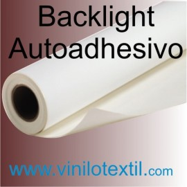 Backlight film autoadhesivo
