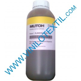 Tinta dispersa Mutoh RJ80DD-100-YE