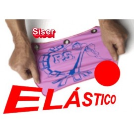 Siser ps elastico stretch rojo