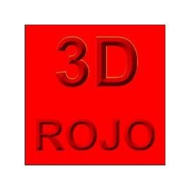 Siser 3D Rojo