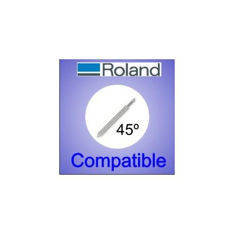 Cuchilla Roland compatible 45 grados