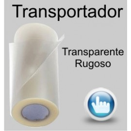 Transportador transparente rugoso