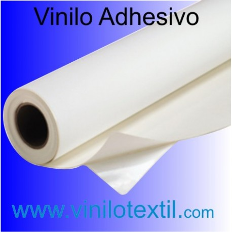 Vinilo adhesivo blanco satinado removible