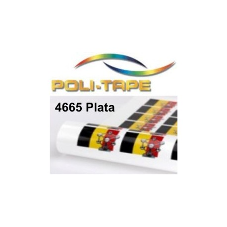 Poliflex 4665 plata imprimible