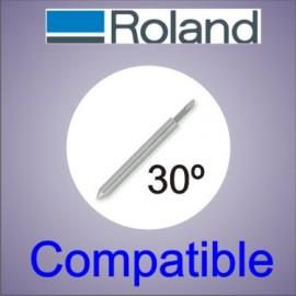 Cuchilla Roland compatible 30 grados