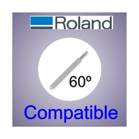 Cuchilla Roland compatible 60 grados