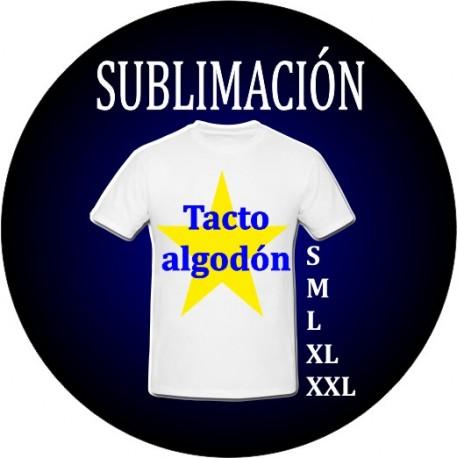 Camiseta sublimación adulto