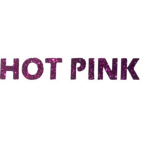 Siser Glitter 2 Hot Pink