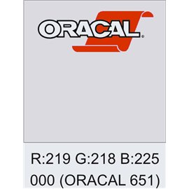 Oracal 651 Transparente