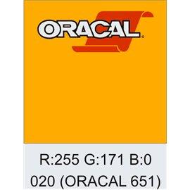 Oracal 651 Golden Yellow