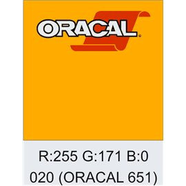 Oracal 651 Golden Yellow