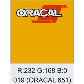 Oracal 651 Signal Yellow