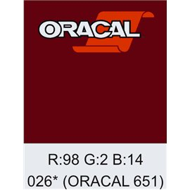 Oracal 651 Purple Red