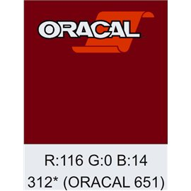 Oracal 651 Burgundy