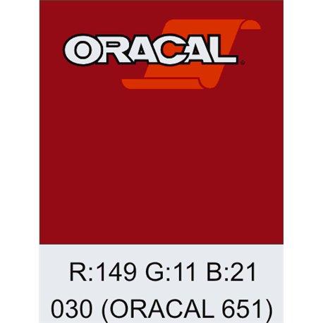 Oracal 651 Dark Red