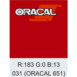 Oracal 651 Red