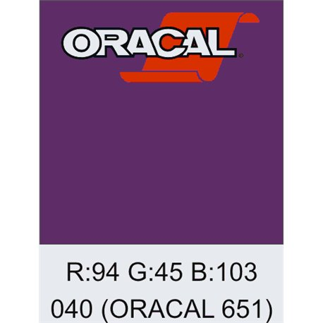 Oracal 651 Violet