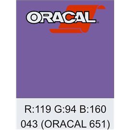 Oracal 651 Lavender