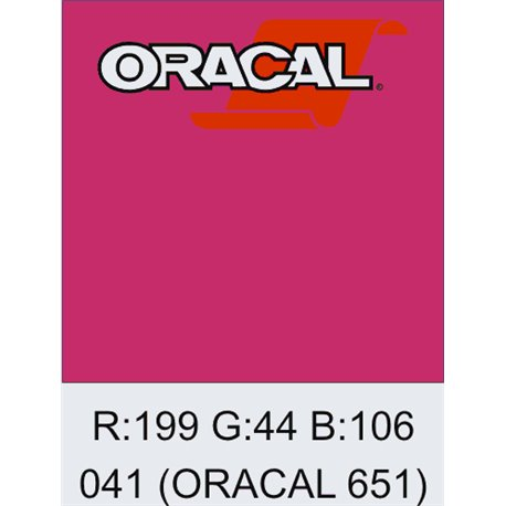 Oracal 651 Pink