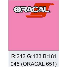 Oracal 651 Soft Pink