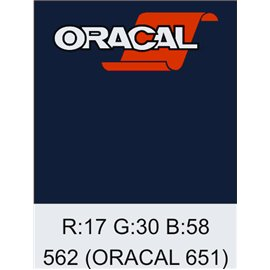 Oracal 651 Deep Sea Blue