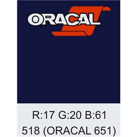 Oracal 651 Steel Blue