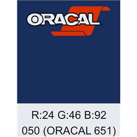Oracal 651 Dark Blue
