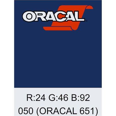 Oracal 651 Dark Blue