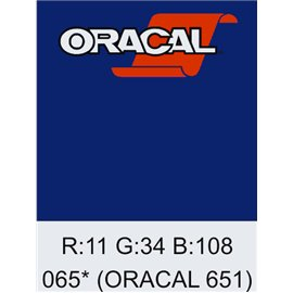 Oracal 651 Cobalt Blue