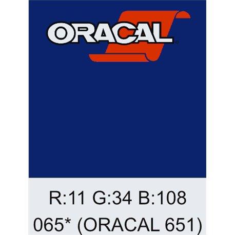 Oracal 651 Cobalt Blue
