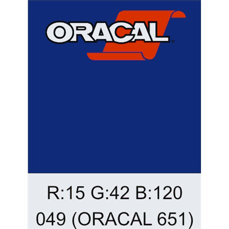 Oracal 651 King Blue
