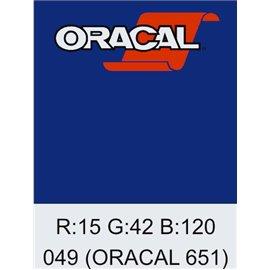 Oracal 651 King Blue
