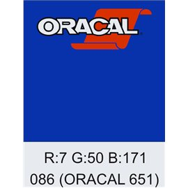 Oracal 651 Brillant Blue