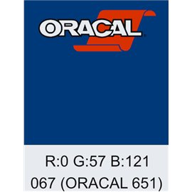 Oracal 651 Blue