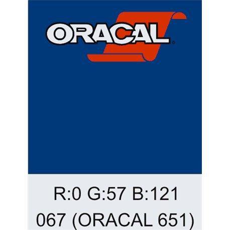 Oracal 651 Blue
