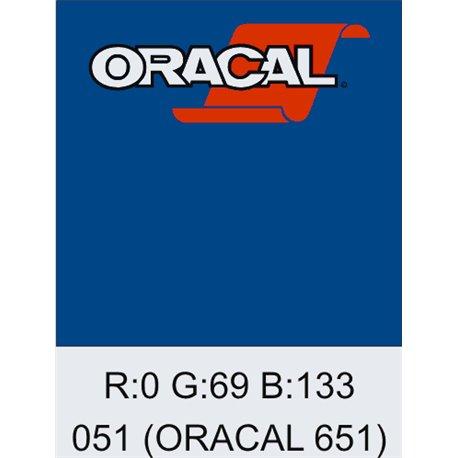 Oracal 651 Gentian Blue