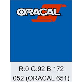 Oracal 651 Azure Blue