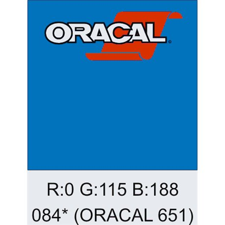 Oracal 651 Sky Blue