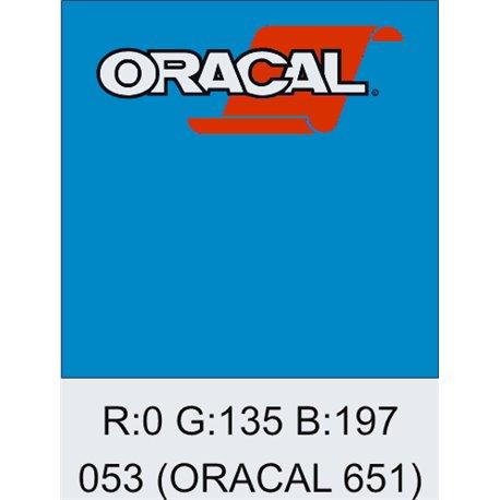 Oracal 651 Light Blue