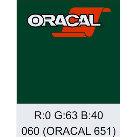 Oracal 651 Dark Green