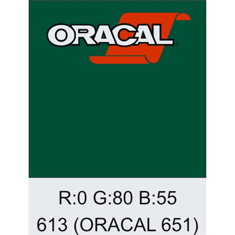 Oracal 651 Forest Green