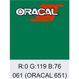 Oracal 651 Green