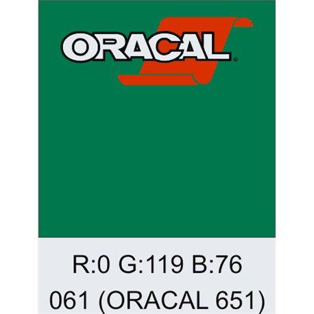 Oracal 651 Green
