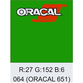 Oracal 651 Yellow Green