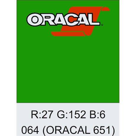 Oracal 651 Yellow Green