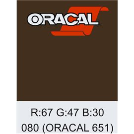 Oracal 651 Brown