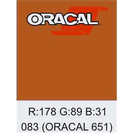 Oracal 651 Nut Brown