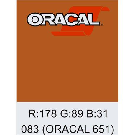 Oracal 651 Nut Brown